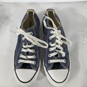 Navy Blue Converse All Stars - size M 5, W 7